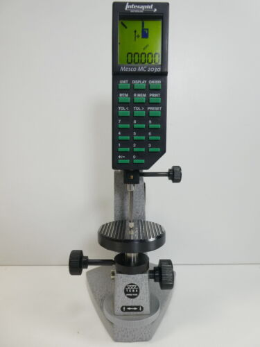 TESA prec. Measuring Stand  Digico1 Interapid Mesco MC2030 digital Height Gage
