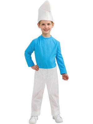 Child's Boys Smurfs The Lost Village Smurf Costume
