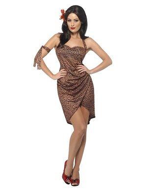 Ladies Jane (Tarzan &) Costume Fancy Dress Medium 12-14 Hen Night Jungle Cave