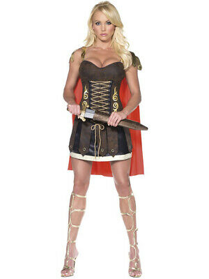Female Gladiator Costumes (Women's Sexy Fever Female Roman Gladiator Warrior Costume Large)