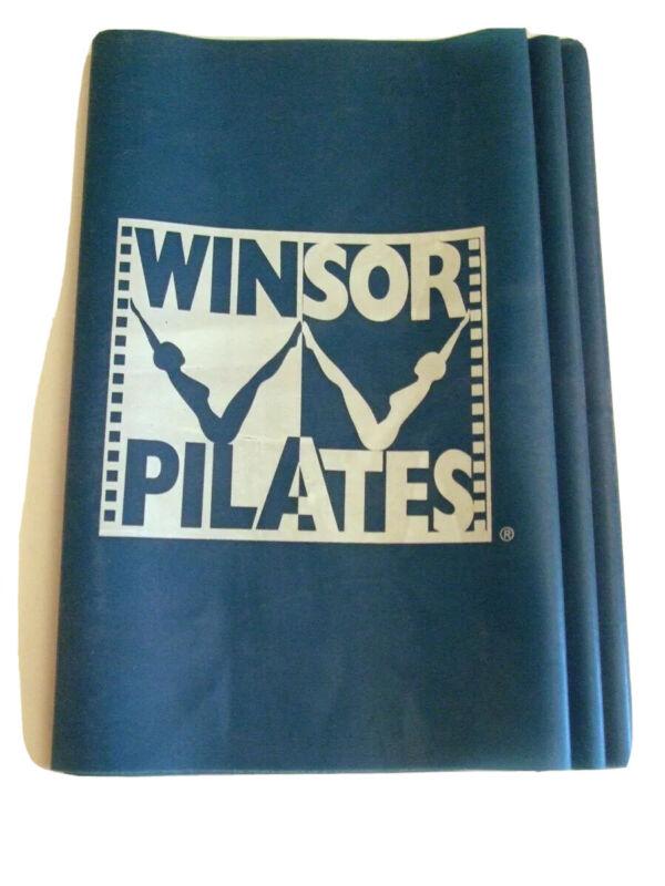 Winsor Pilates Resistance Band Blue Band Mari Winsor Workout Fitness Exercise