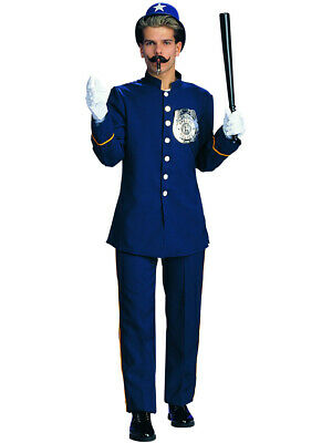 Adult's Mens Blue Keystone Kop Costume - Keystone Costume