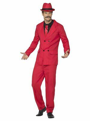 SMIFFY 44891 20er Jahre Zoot Suit Gangster Anzug Chicago Karneval Herren Kostüm