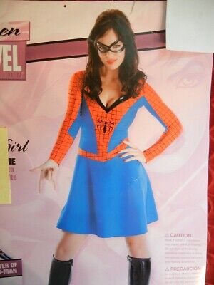 SEXY SPIDERMAN SPIDER GIRL HALLOWEEN COSTUME - FANTASY - Sexy Spiderman Outfit