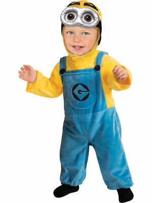 Kids Boys Child Minion Dave Despicable Me Costume Infant 6-12 Month
