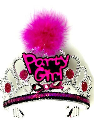 Adults Womens Life Of The Party Girl Tiara Costume Accessory](Life Of The Party Costume)