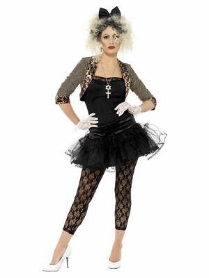 SMIFFY 36233 80er Jahre Rock Diva Wildes Kind Musik Star Karneval Damen Kostüm - 80er Jahre Kostüm Kind
