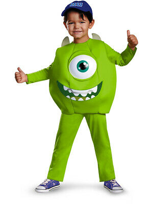 Baby Monsters Inc Costumes (Child Deluxe Monsters Inc University Mike)