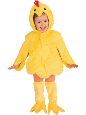 Baby Chick Costumes (Plush Young Yellow Chick Chicken Farm Animal Child's Costume Small)