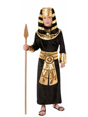 Child's Boys Egyptian King High Pharaoh Black Robes Costume](Egyptian Boy Costume)