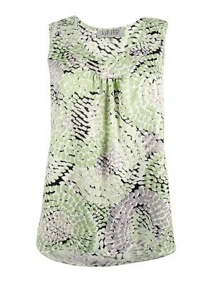 Kasper Women's Mosaic Printed Top