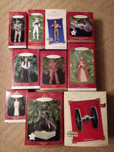 Star Wars Hallmark Christmas Ornaments