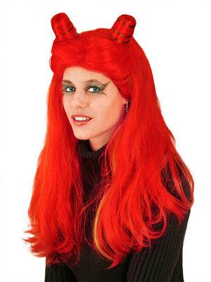 Poison Ivy Perücke rot Karneval Fasching Haare Teufel