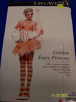 4 pc. Garden Fairy Princess Pixie Autumn Dress Up Halloween Sexy Adult Costume - Fall Fairy Costume