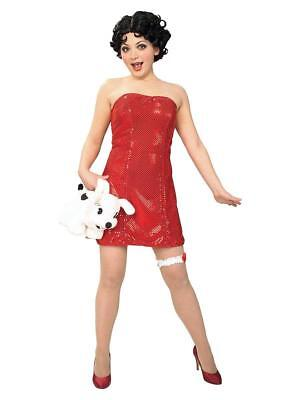 Betty Boop Wigs (Betty Boop Sexy Adult Costume Dress and Wig)