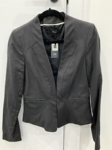 CUE Grey Jacket - Size 8 - New with Tags