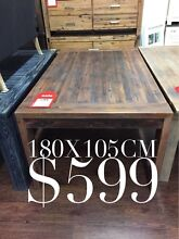 SOLID TIMBER DINING TABLES CLEARANCE: BRAND NEW & FACTORY SECONDS Logan Central Logan Area Preview