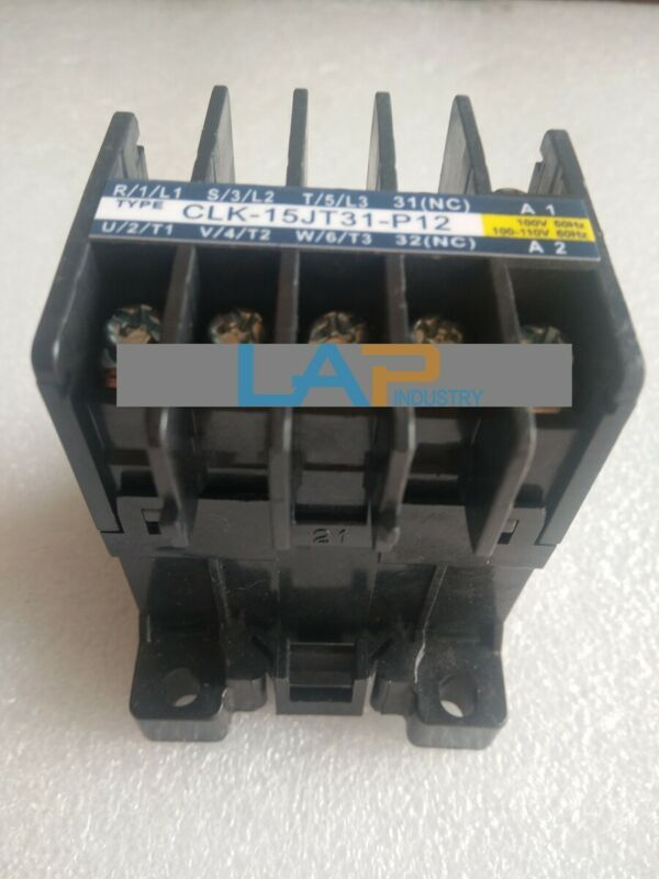 1PCS NEW FOR TOGAMI AC Contactor CLK-15JT31-P12A
