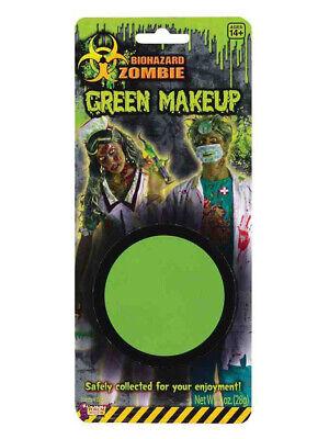 Deluxe Biohazard Zombie Halloween Costume Fluorescent Green Makeup](Halloween Zombie Costume Makeup)