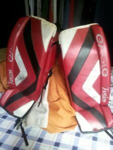 Hockey Goalie Pads, Blocker and Glove