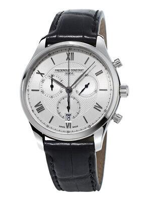 Frederique Constant Men's Quartz Chronograph Date Window 40mm Watch FC-292MS5B6