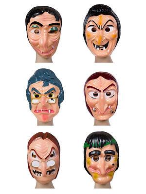 Gesichtsmaske Hexe Karneval Halloween Kostüm Märchen