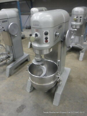 Hobart H-600t Pizza Donut Pizza Dough Mixer 60 Qt W Bowl Hook