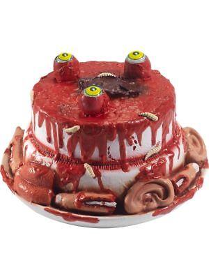 SMI - Halloween Deko Latex Zombie Kuchen mit beweglichen Augen