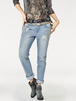 Boyfriend-Jeans, Linea Tesini by heine. blue denim. NEU!!! KP 59,90 € %SALE% Boys Blue Denim