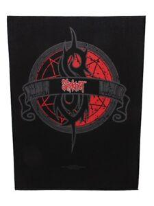 Slipknot Crest Black Back Patch