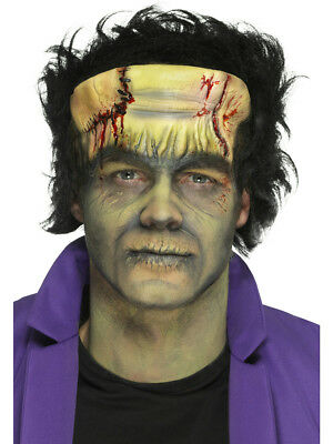 Foam Latex Green Monster Head Prosthetic Halloween Costume Accessory w Adhesive - Latex Prosthetics Halloween