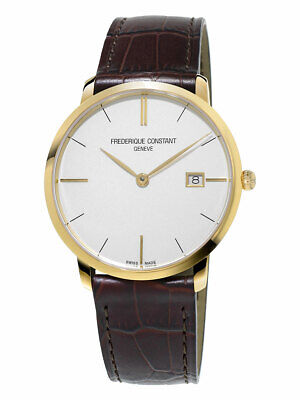 Frederique Constant Slimline FC-220V5S5 38mm Silver Dial Watch