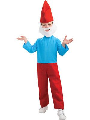 Child's The Smurfs Movie Papa Smurf Costume Boys Large 12-14](Smurf Costume Kids)