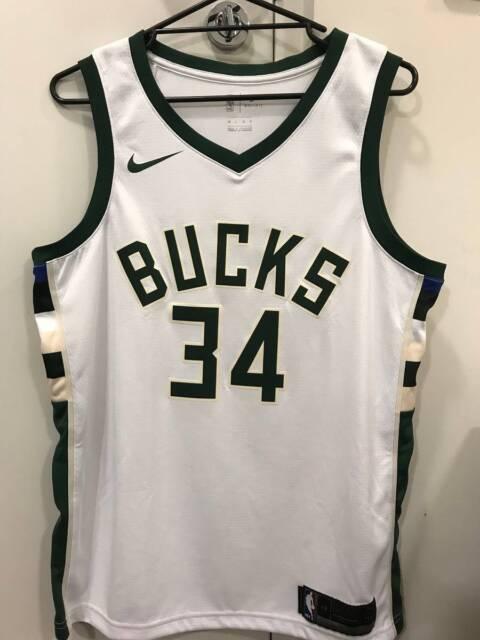 c9bffebe890f NBA Nike Swingman Giannis Antetokounmpo  34 Bucks Jersey ...