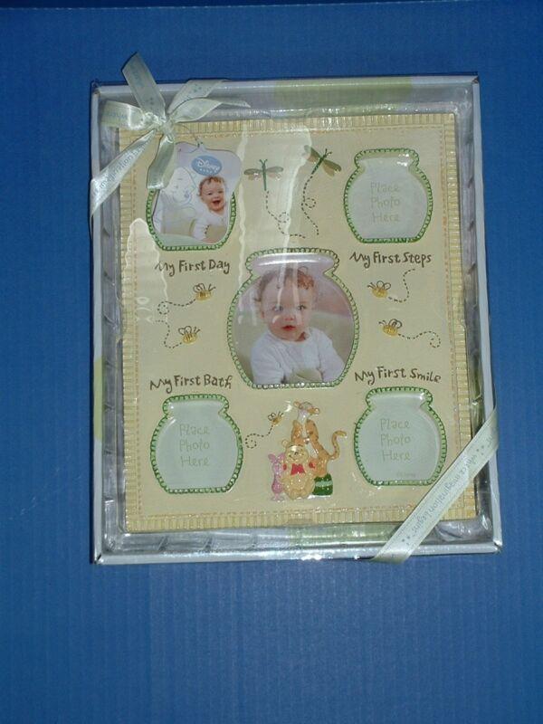 Disney POOH Milestone My First Picture Frame Unisex