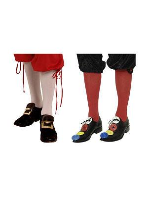 Paar Kniestrümpfe, Einheitsgröße Accessoires Kostüm Clown - Alt Paar Kostüm