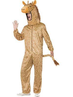 SMI - Herren Kostüm Giraffe Overall Giraffenkostüm Karneval Fasching