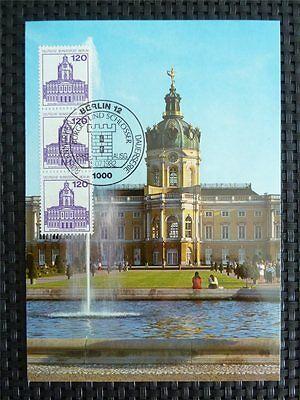 BERLIN MK 1982 SCHLOSS CHARLOTTENBURG MAXIMUMKARTE CARTE MAXIMUM CARD MC c4971