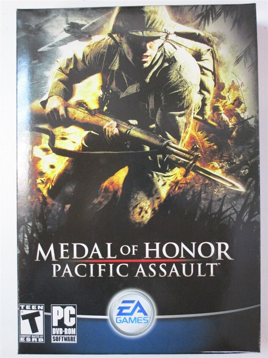 Video Game PC Medal of Honor Pacific Assault NEW SEALED Box