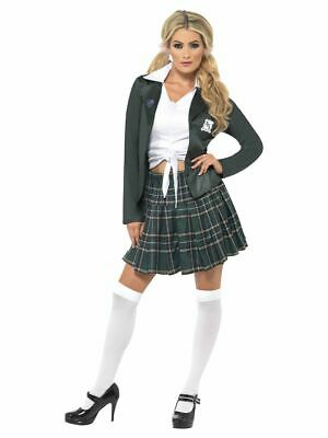 Women's 1990's Britney Spears I Did It Again School Girl Fancy Dress Costume - 1990s Costume