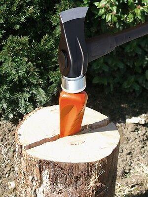 Fiskars Spalthammer X46 Glasfaserstiel Spaltaxt Spaltkeil Holzspalter 905 mm