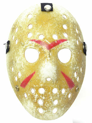 ey Mask Distressed Scary Movie Friday 13th Killer (Jason Scary Movie)