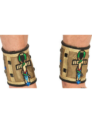 Egyptian Pharoah Costume (Adults Mens Deluxe Egyptian Pharoah Ankle Bands Costume)