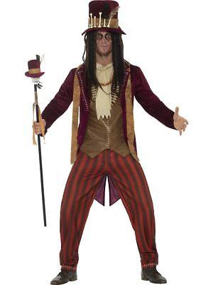 SMI - Herren Kostüm Voodoo Priester Hexendoktor Karneval Halloween