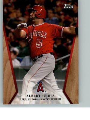 2017 Topps On Demand Chasing 600 Home Runs  5 Albert Pujols Hr  500