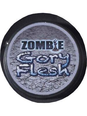 Deluxe Zombie Halloween Costume Gory Flesh Makeup
