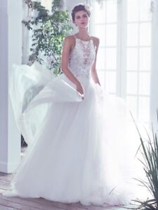 Maggie Sottero ivory wedding dress