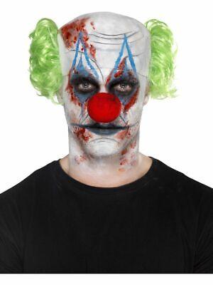 Sinister Clown Make-Up Halloween Kostüm Set Horror Scary Clown