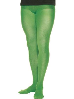 Herren Elfen Strumpfhose Grün Weihnachten Kostüm Verkleidung Zubehör Santa's