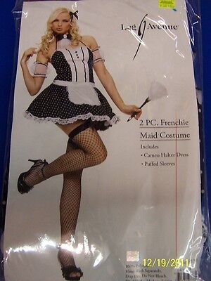 2 pc. Frenchie Maid Chamber French Leg Avenue Halloween Sexy Adult Costume